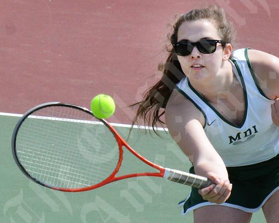 MDI vs Caribou tennis match