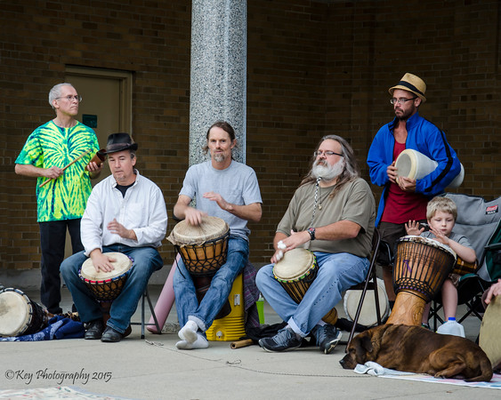 Mount Echo Drum Circle and Flow Jam