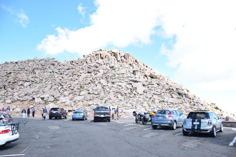 Mount Evans Summit, 14,130 ft.