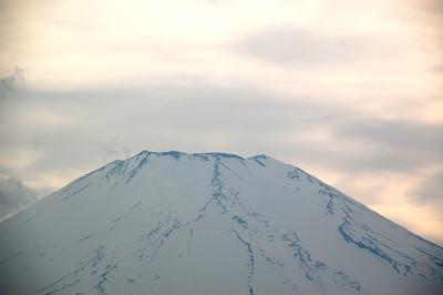 Mount Fuji viewed from Lake Yamanaka