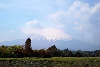 Mount Fuji viewed from near Lake Yamanaka