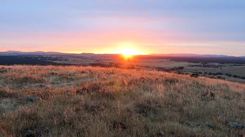 Mount Glasgow Sunset
