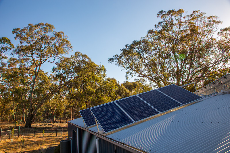 Solar power upgrade