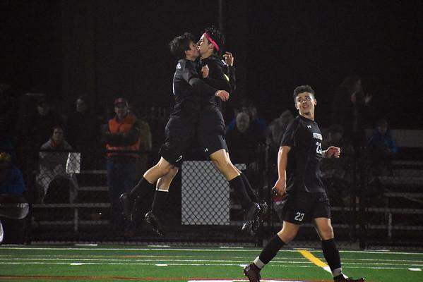 Mount Greylock boys soccer vs. Pittsfield at BCC - 100518