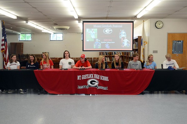 Mount Greylock division 3 signing ceremony - 052218