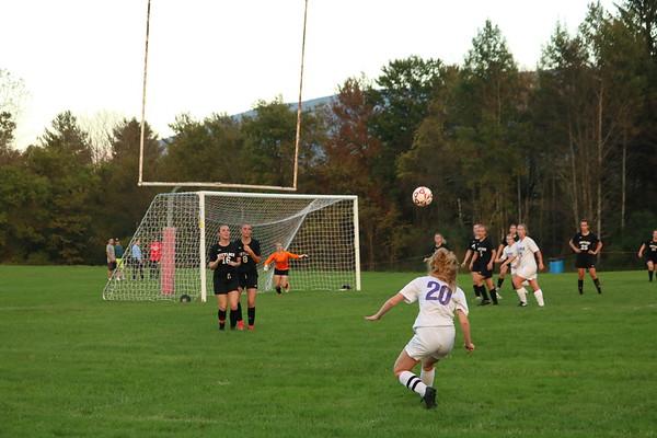 Mount Greylock girls soccer vs. Pittsfield High - 100918