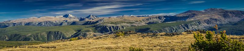 Mount Hague, Mount Wood and Granite Peak