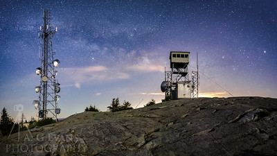 Milky Way behind the Fire Tower