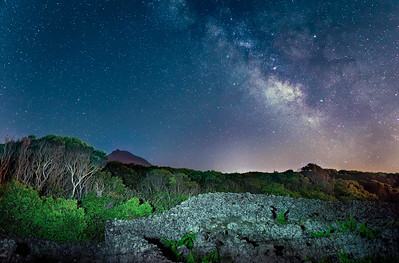 Milky Way vs Light Pollution