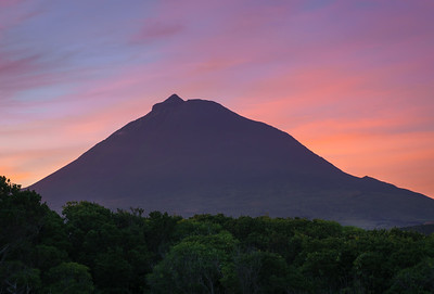 Mid-August Sunrise on Mount Pico