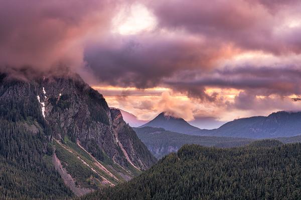Inspiration Point - Mt Rainier