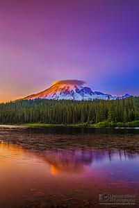 """Alpine Serenity,"" Mount Rainier National Park, Washington"
