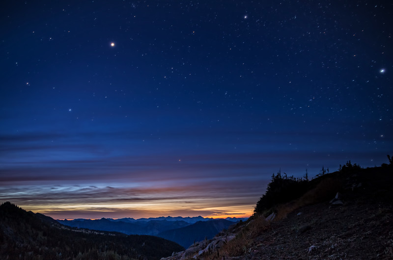 Dawn approaches, Sunrise Region