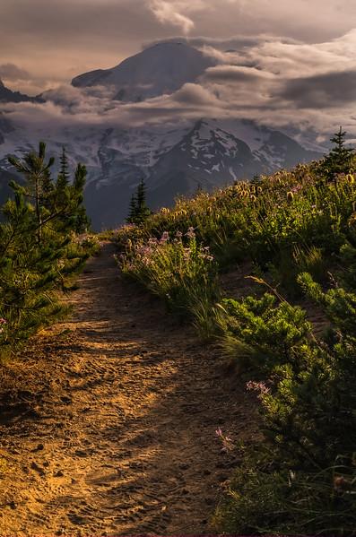 Late summer hike, Sunrise Region