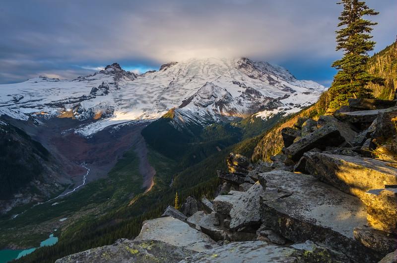 Sunrise at Glacier Overlook, Sunrise Region