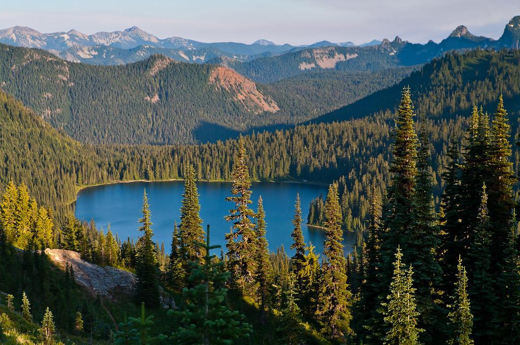 Naches Peak Loop Trail, Chinook Pass