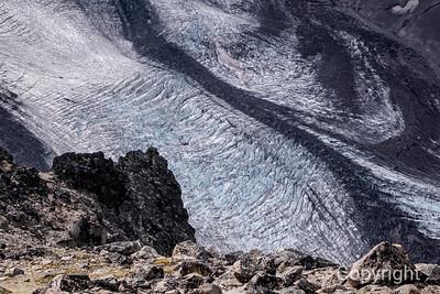 Winthrop Glacier Closeup