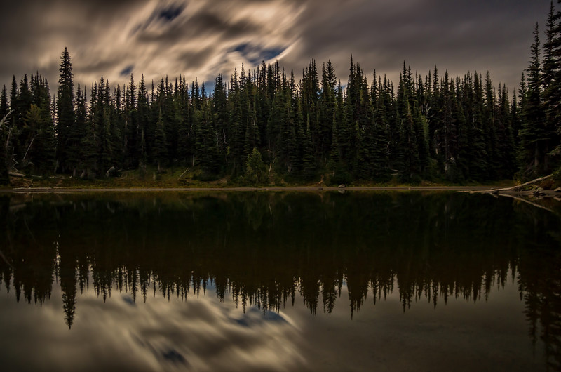 Shadow Lake, Sunrise Region on a Full Moon night