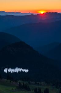 Sunrise from Dege Peak
