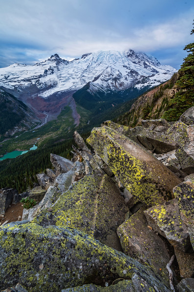Glacier Overlook, Sunrise Region