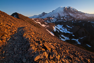 The trail to Mt. Fremont Lookout, Sunrise Region