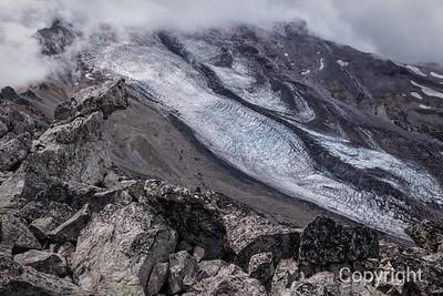 Winthrop Glacier Mount Rainier