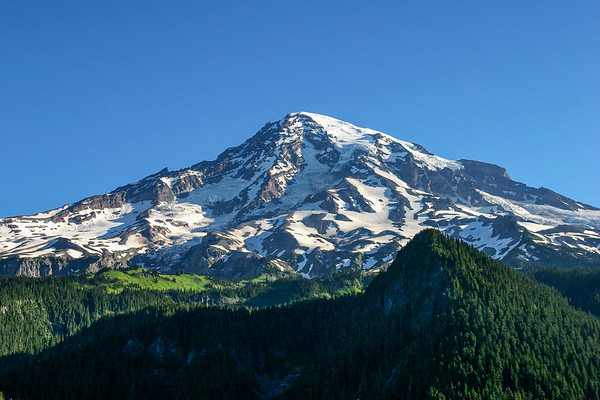 Mount Rainier from Paradise Viewpoint