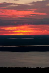 Sunrise on Cadillac Mountain