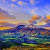 35th Anniversary Sunrise, Mt St Helens National Volcanic Monument