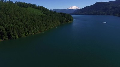 2-Saddle Dam-and Mount St  Helens