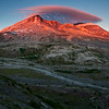 Mount St. Helens at Sunrise