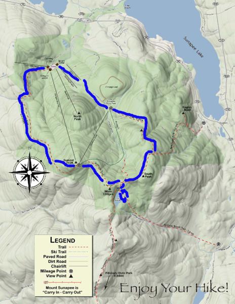 Mount Sunapee Hiking Trail