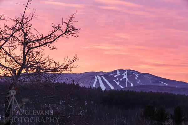 Mount Sunapee Sunrise 4