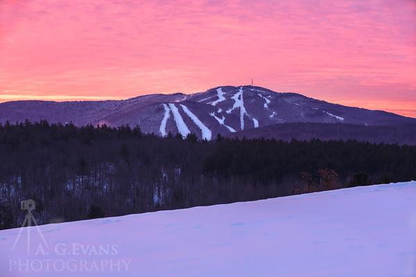 Mount Sunapee Sunrise 3
