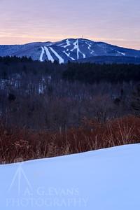 Mount Sunapee Sunrise