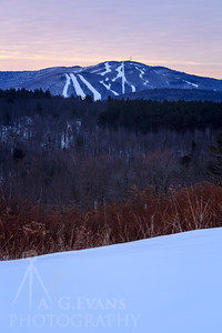 Mount Sunapee Sunrise