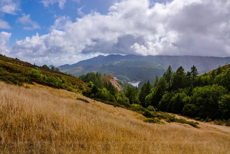 Mount Tam from Bathtub Gap
