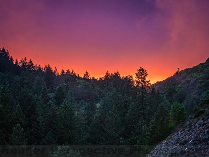 Twilight Skies at Liberty Gulch