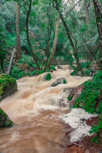 Long Exposure Shot of Cataract Creek