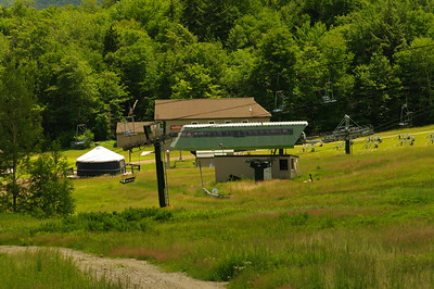 Waterville Valley Ski Area in the Summer