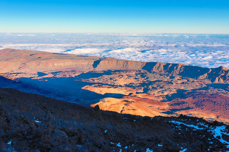 Mount Teide --a volcano on Tenerife in the Canary Islands. (2015)