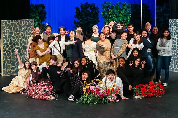Mount Vernon HS Theatre - A Secret Garden - Winter 2018