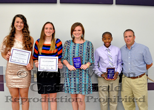 Mount Vernon2014 Athletic Banquet