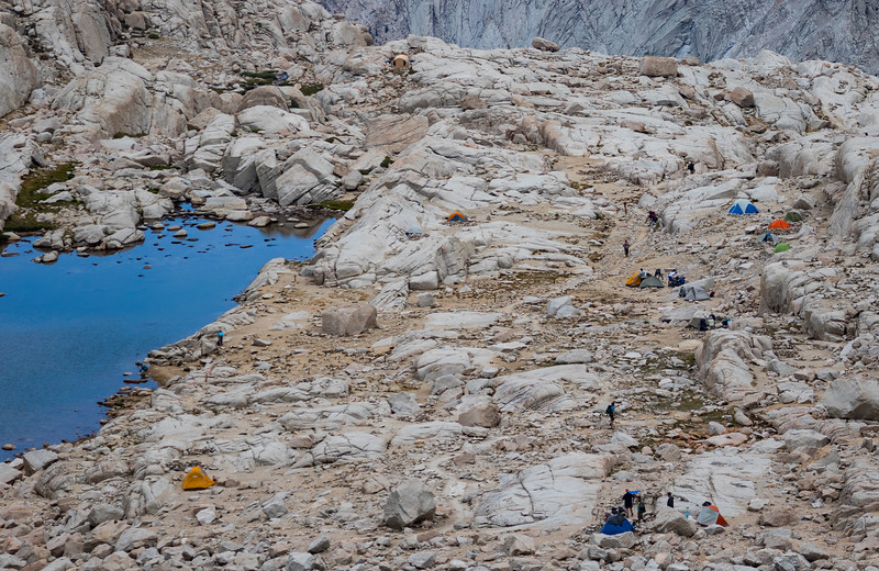 This is Trail Camp on the Mount Whitney ascent in California. (© Erica Jacques 2016)
