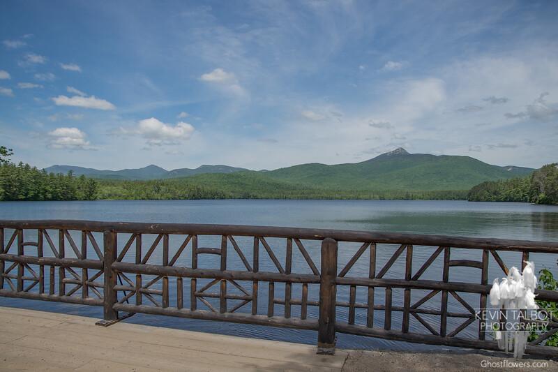 Obligatory stop at Chocorua Lake.