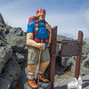 Meet Mountain Mike, on hand for the Mount Washington State Parks 50th Anniversary.