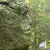 """On route 2 in Shelburne is the """"Old Man of the Valley""""."""