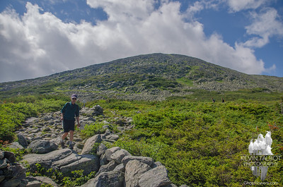 Descending Lion Head Trail.