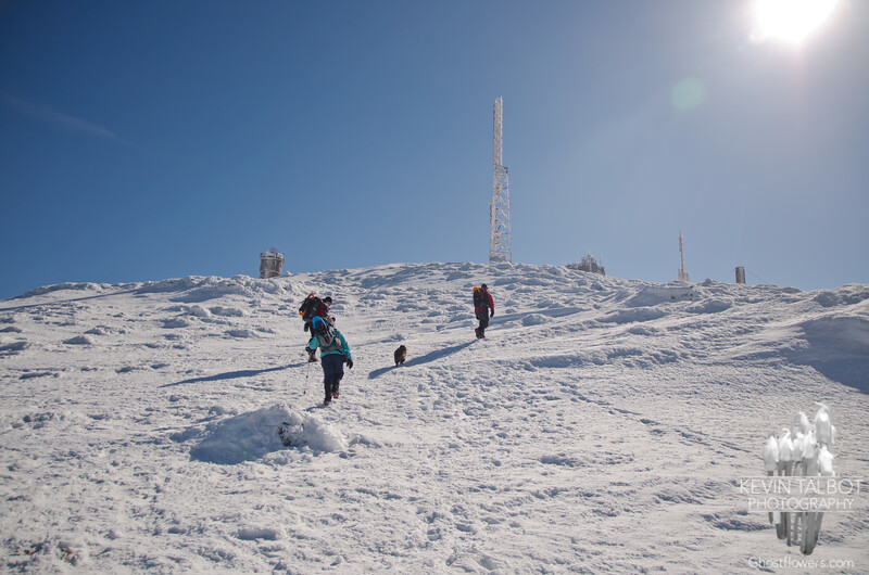 Summit approach on the Crawford.