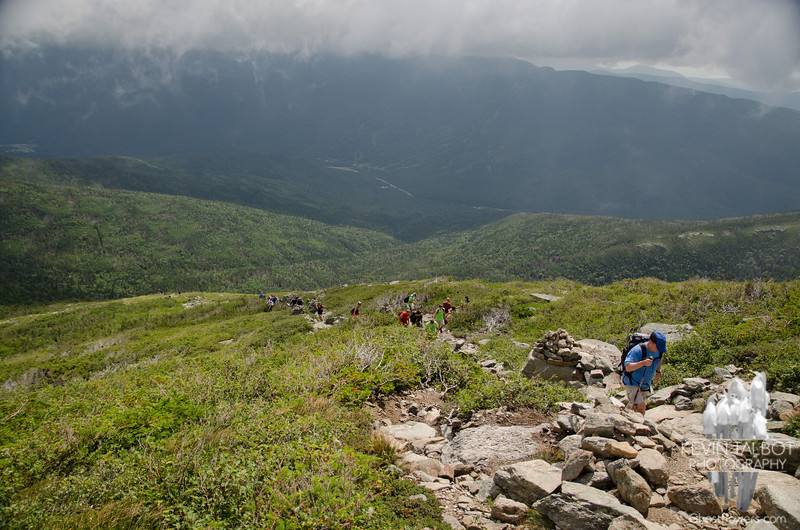 With parts of Tuckerman Ravine Trail closed, Lion Head became the main ascent route.